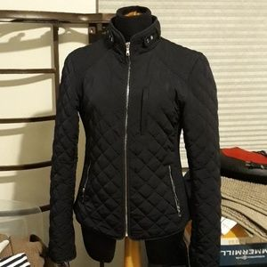 Zara woman quilted Burberry style jacket- medium